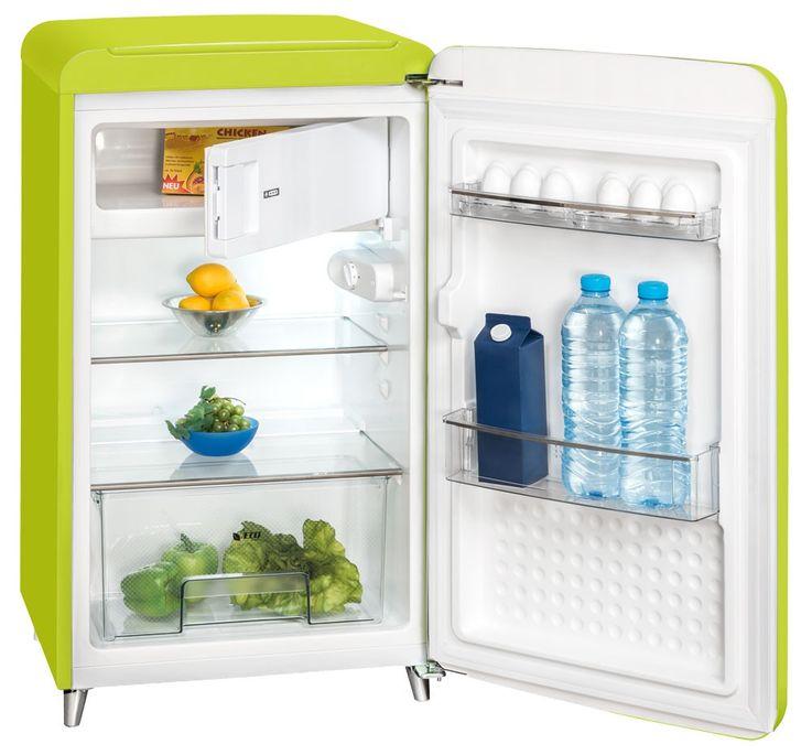Design Kühl- Gefrier Kombination Glas Boden Eis Schrank Exquisit RKS130-11A++ – Bild 1