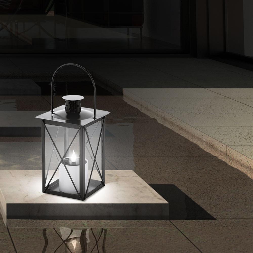 solar led au en grab leuchte laterne h nge steh lampe akku veranda balkon beet ebay. Black Bedroom Furniture Sets. Home Design Ideas