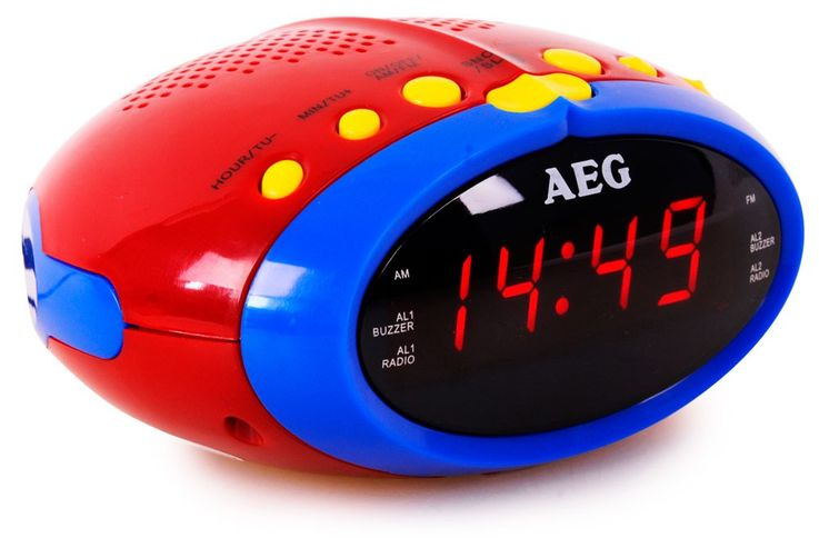 Children Music Karaoke system game room alarm clock 24 hours watch LED display – Bild 2