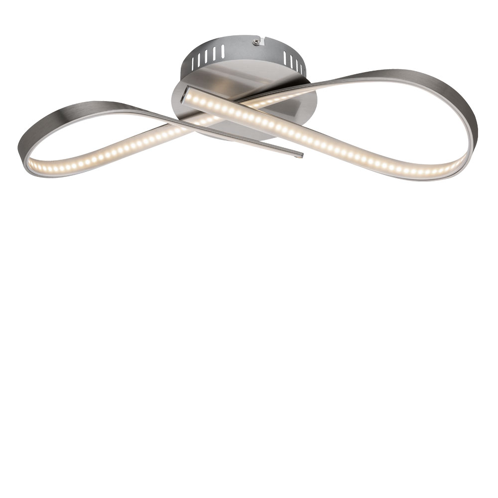 LED ceiling lamp in the form of a loop for your four walls – Bild 1
