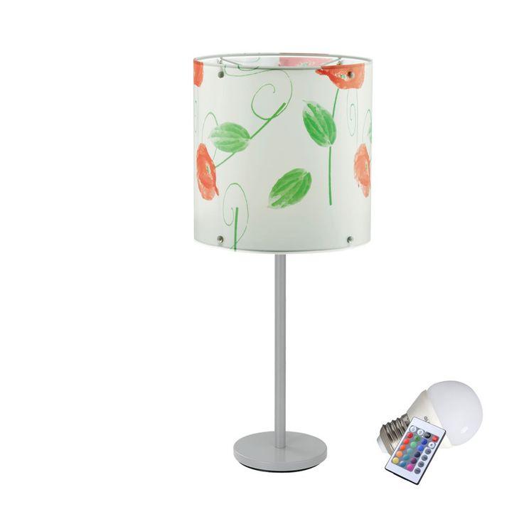 Luxus Tischleuchte mit RGB LED Leuchtmittel – Bild 1