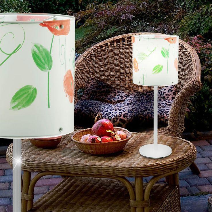 Luxus Tischleuchte mit RGB LED Leuchtmittel – Bild 4