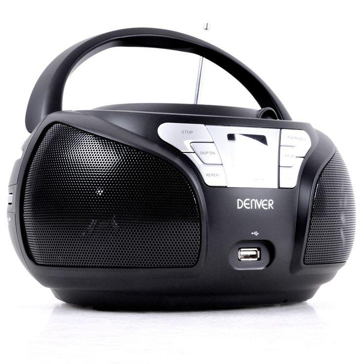 Toplader CD Player TCU-206 mit Smiley Aufkleber – Bild 3