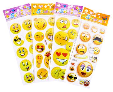 Kassetten CD Radio Stereo Anlage Musik Player im Set inklusive Smiley Sticker – Bild 6