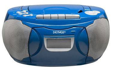 Kassetten CD Radio Stereo Anlage Musik Player im Set inklusive Smiley Sticker – Bild 3