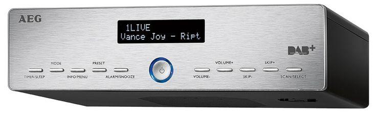 Undermount kitchen radio DAB + FM 3-step dimmer music LCD display AEG KRC 4368 – Bild 1