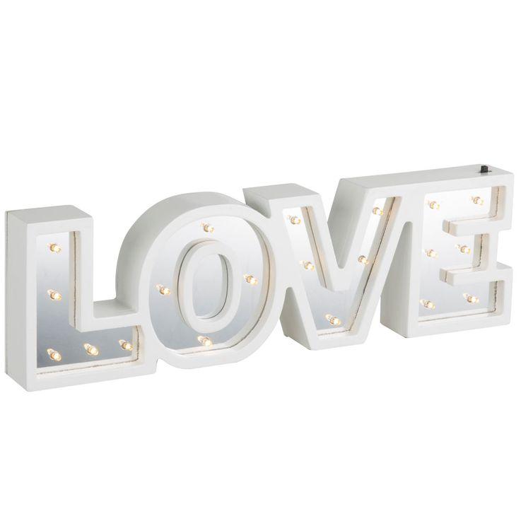 LED Table Lamp Lighting Living Room Stand Decoration Switch Mirror Luminaire LOVE Globo 29979 – Bild 4