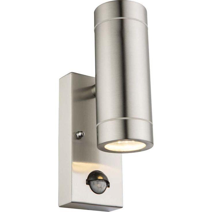 Anregende 5,4W LED Außen Wand Haus Lampe Glas Edelstahl Globo PERRY 32068-2S – Bild 1