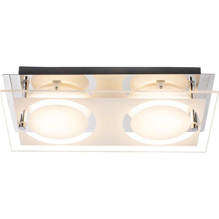 Imposante 12W LED Diele Wandleuchte aus Chrom RICKY – Bild 2