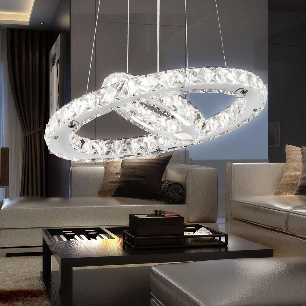 anregende 24w led h ngeleuchte mit beweglich aus chrom lampen m bel r ume wohnzimmer. Black Bedroom Furniture Sets. Home Design Ideas