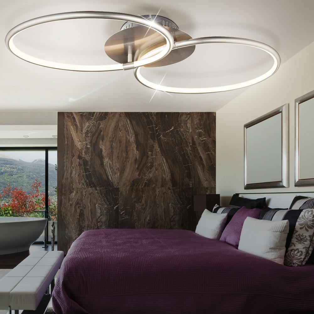30 w led deckenleuchte mit 2 ringen f r ihre vier w nde kyle lampen m bel innenleuchten. Black Bedroom Furniture Sets. Home Design Ideas