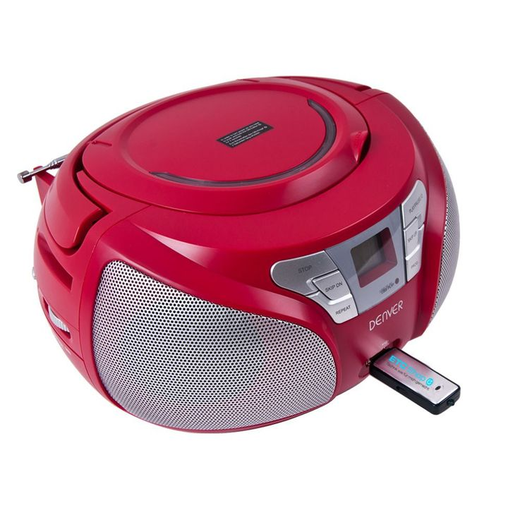 Stereo CD radio with USB connection and smiley stickers – Bild 5