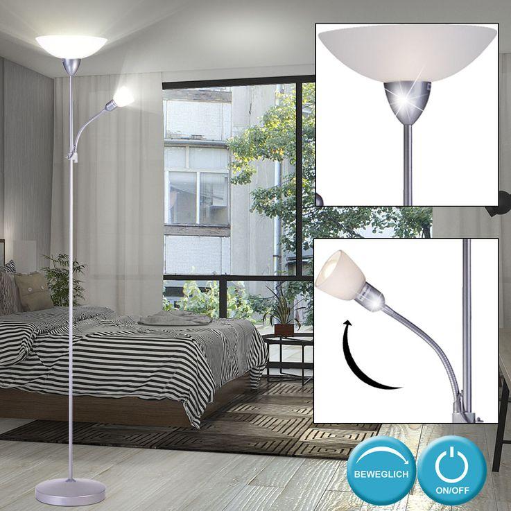 Lampadaire avec source lumineuse LED RGB – Bild 4