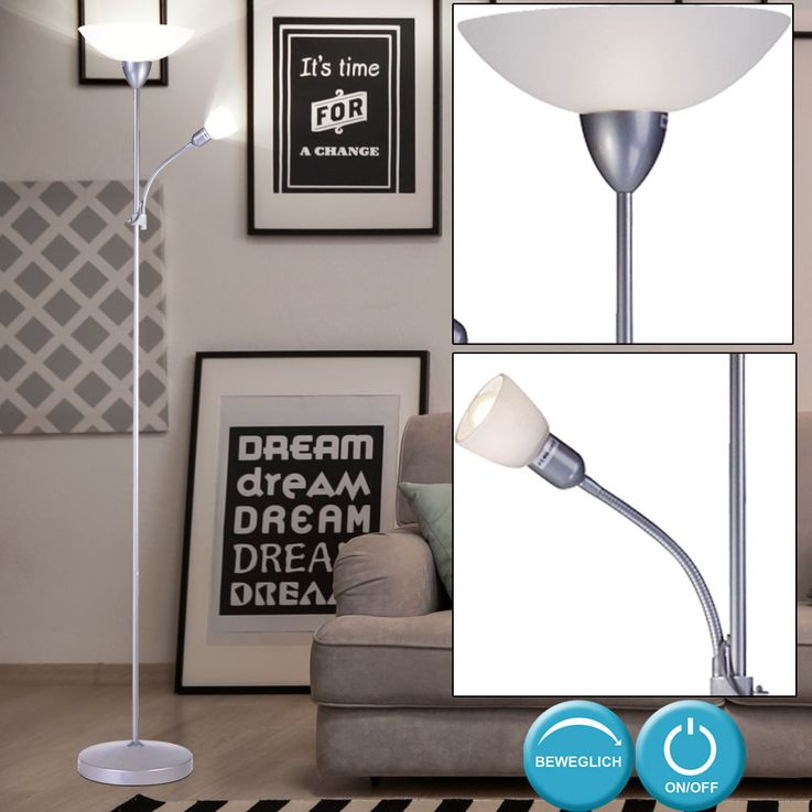 Floor lamp with RGB LED light source – Bild 5