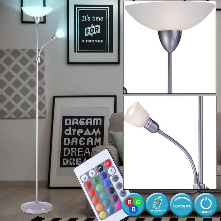 Lampadaire avec source lumineuse LED RGB – Bild 3