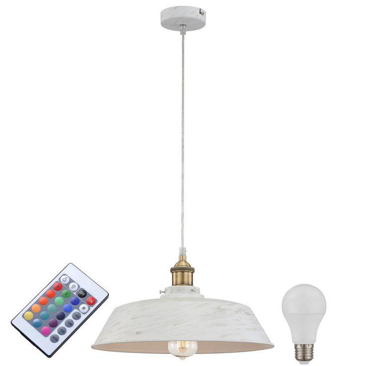 Suspension lamp with RGB LED light source – Bild 1