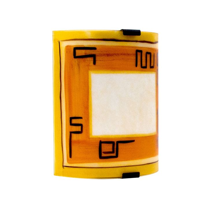 Wall lamp living room ceiling lighting glass lamp orange IP20  Eglo 87317o – Bild 1