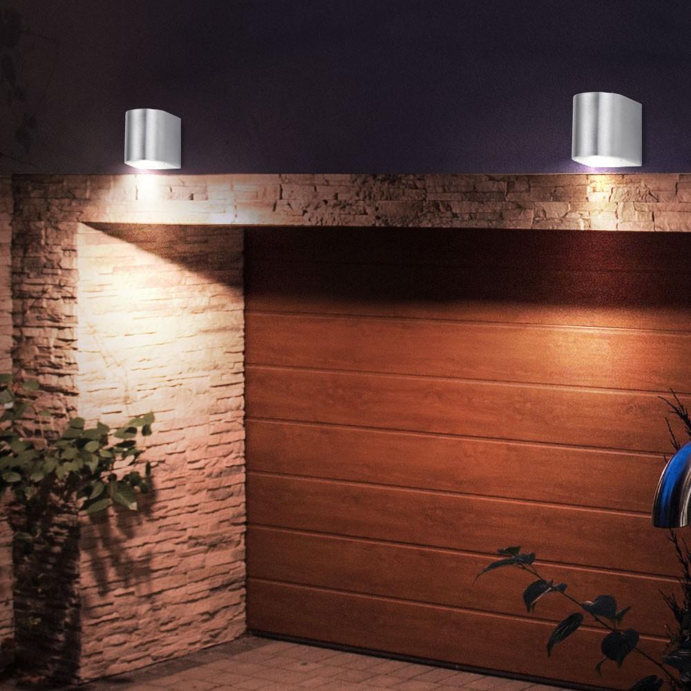 led wandleuchte f r den au enbereich unsichtbar lampen m bel au enleuchten wandleuchten. Black Bedroom Furniture Sets. Home Design Ideas