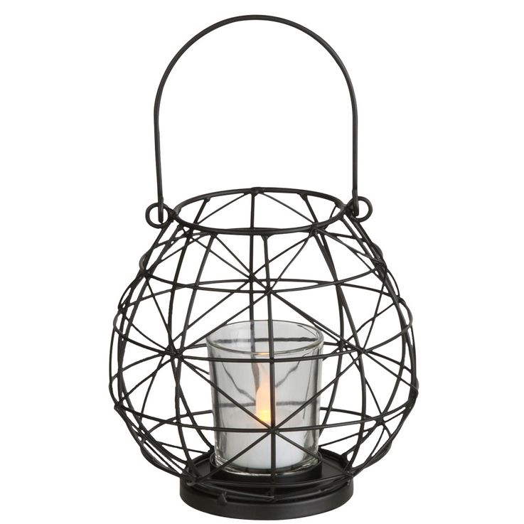 Plafonnier LED suspendu lampe design lanterne salon batterie stand lumière  Globo 28194 – Bild 1