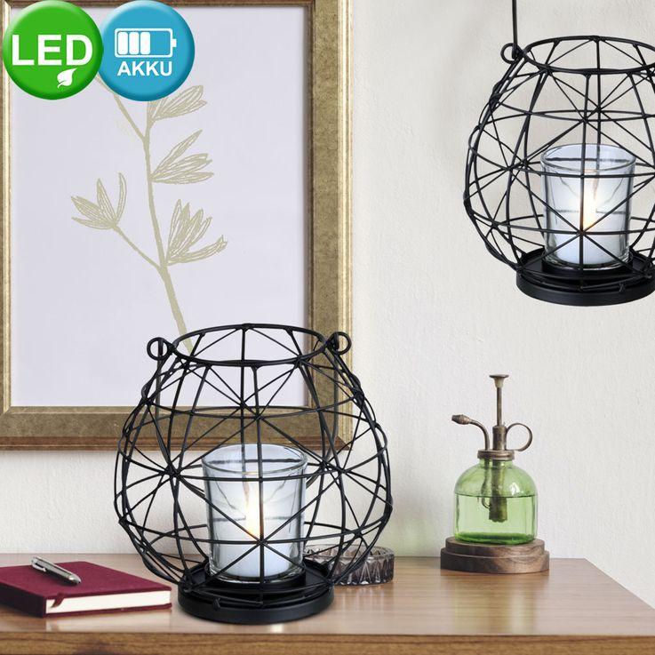 Plafonnier LED suspendu lampe design lanterne salon batterie stand lumière  Globo 28194 – Bild 3