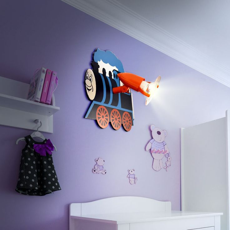 Children room ceiling lamp wall lighting engine lamp Heitronic 27355 – Bild 3
