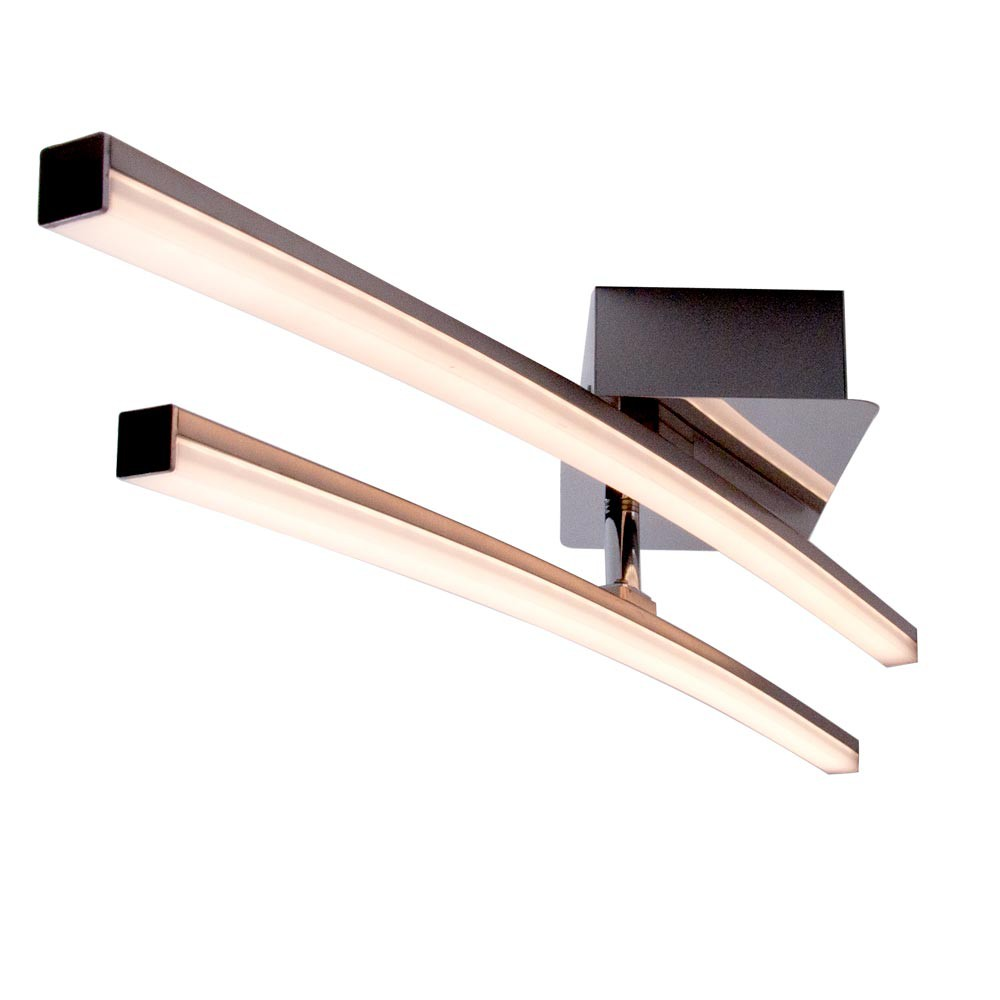 Led deckenleuchte mit einem beweglichen leuchtarm lampen for Lampen led deckenleuchten