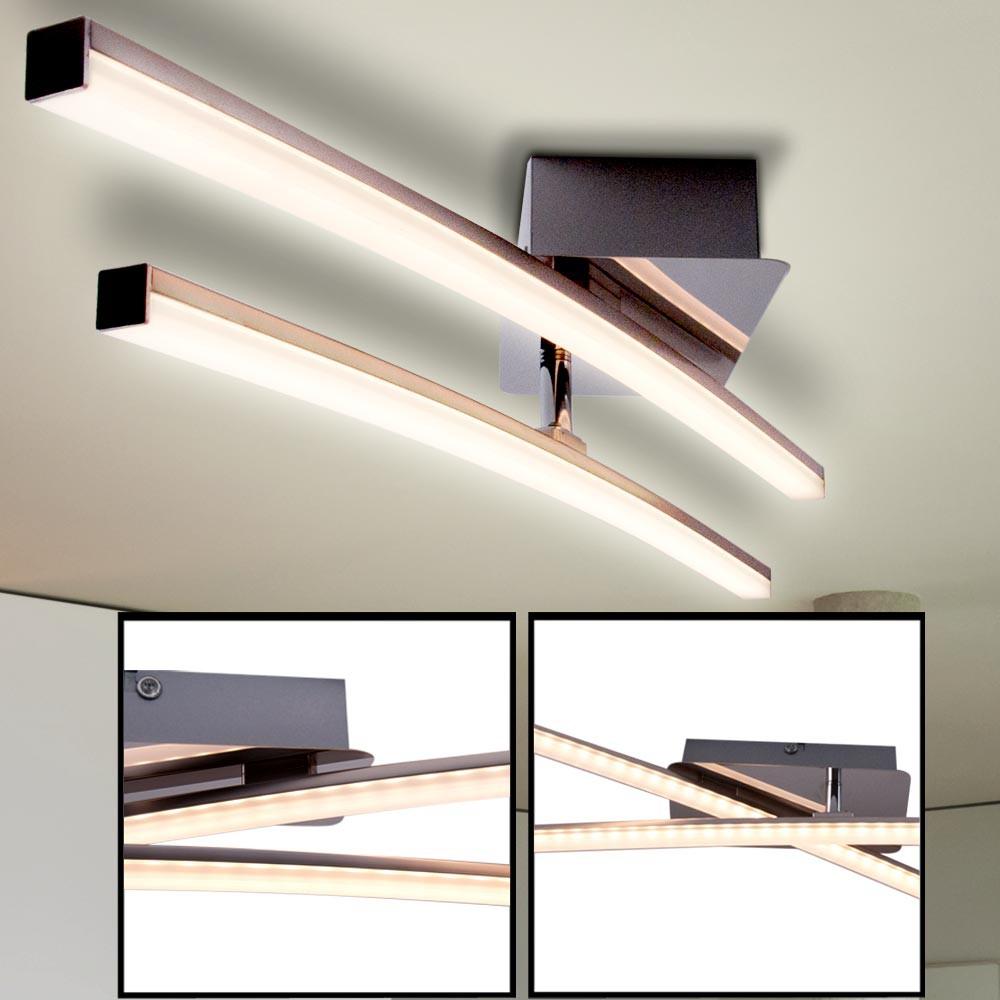 led deckenleuchte mit einem beweglichen leuchtarm lampen m bel r ume wohnzimmer. Black Bedroom Furniture Sets. Home Design Ideas