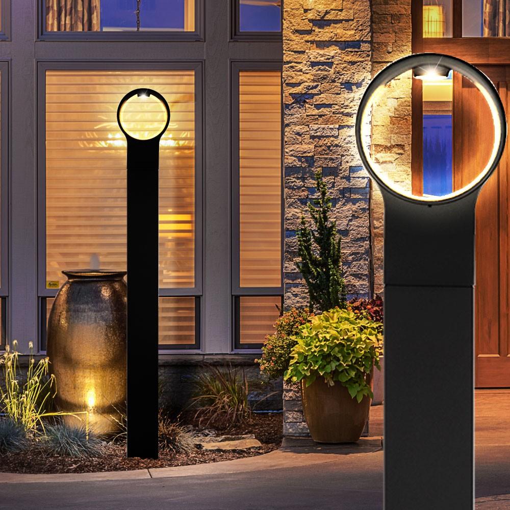 led stehleuchte f r den au enbereich lampen m bel au enleuchten stehleuchten s ulenleuchten. Black Bedroom Furniture Sets. Home Design Ideas