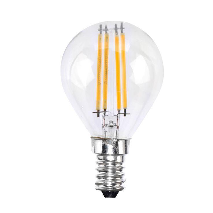 Hochwertiges E14 4 Watt LED Filament Leuchtmittel mit 2700K – Bild 1