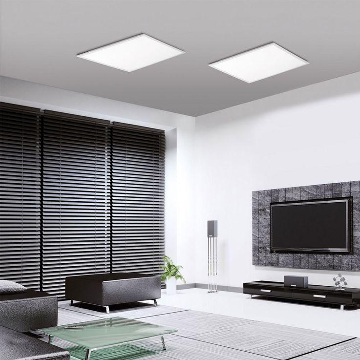 RGB LED Decken Leuchte Wohnraum Panel dimmbar weiß Fernbedienung Leuchten Direkt 14631-16  – Bild 3