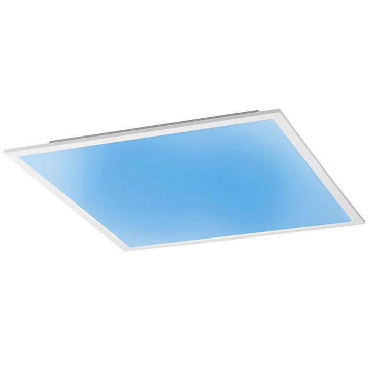 RGB LED Decken Leuchte Wohnraum Panel dimmbar weiß Fernbedienung Leuchten Direkt 14631-16  – Bild 7