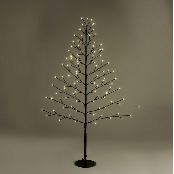 Außen Steh Lampe Grundstück Tannen Baum Weihnachts Beleuchtung 96 LED's Leuchtbaum Leuchten Direkt 86137-18 – Bild 3
