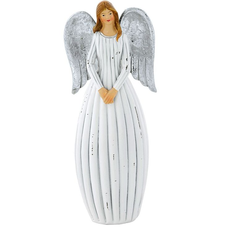 Eleganter Engel für Ihre Weihnachtsdekoration – Bild 1