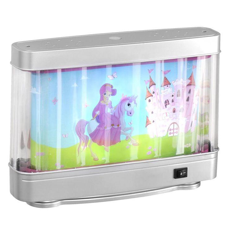 Tisch LED Lampe Prinzessin Kinderzimmer Beleuchtung Mädchen Pferd Leuchten Direkt 85205-70 – Bild 1