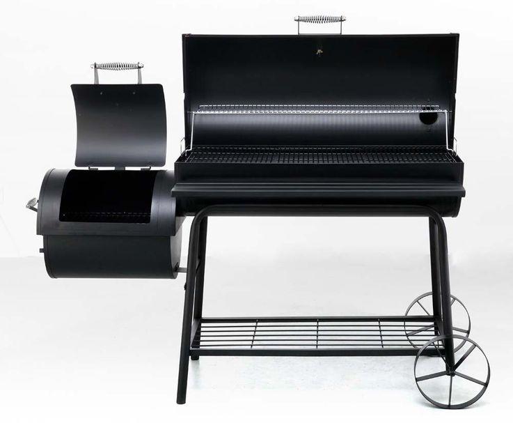 Smoker Holzkohle Grill Garten Terrasse BBQ Tepro NATCHEZ 1088N – Bild 5
