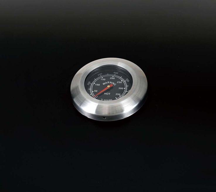 Gas Grill 4 Edelstahl Brenner Garten BBQ Outdoor Thermometer elektrische Zündung – Bild 13