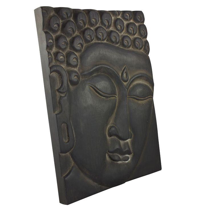 Wand Bild Wohn Schlaf Zimmer Buddha Dekoration Motiv Leinwand Holz Albasia Asia BHP B991685 – Bild 3