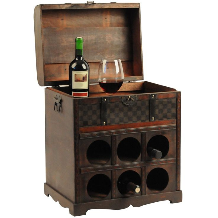 Wine rack in the colonial-style for the wine lover – Bild 1