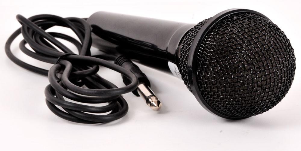 4 Kanal Mischpult MX-22 im Set mit einem Mikrofon – Bild 7