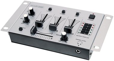 3-Channel DJ Mixer beginners mixer stereo Mono selection in the set including headphones – Bild 3