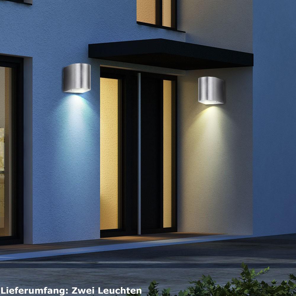 LED 5W Spießstrahler Scheinwerfer IP44 IP65 Spot Terrassen Garten Strahler 230V