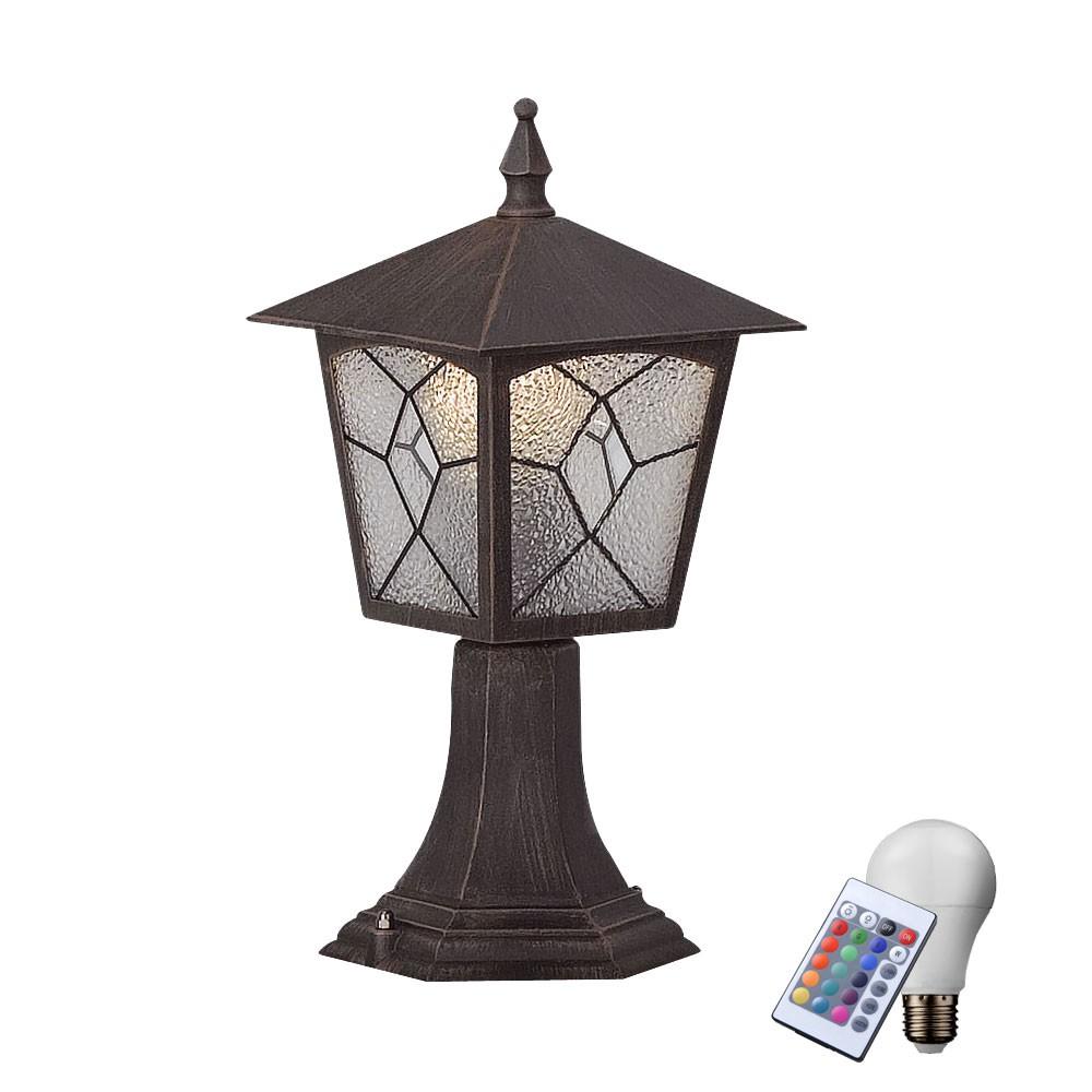 Rgb led stehlampe mit fernbedienung f r den au enbereich for Lampen mit fernbedienung