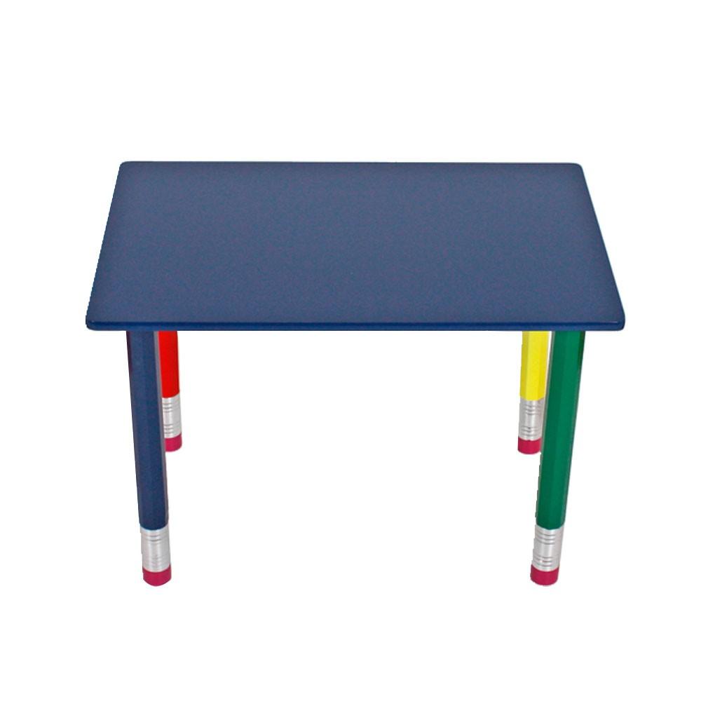 Bleistift design sitz gruppe kinder zimmer mal tisch for Zimmer tisch