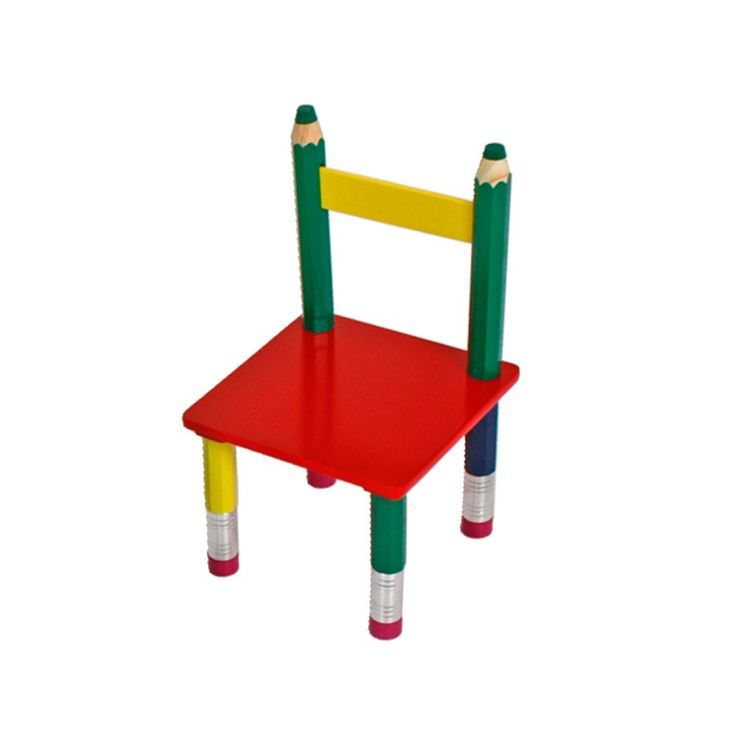 High quality kids table group chairs solid wood colorful painted game room furniture Harms 303990 – Bild 5