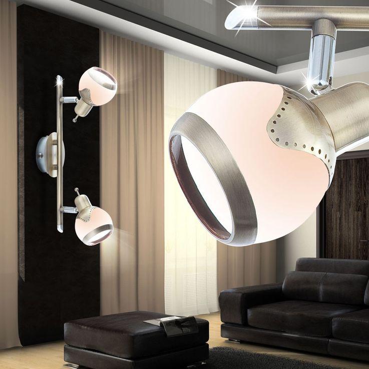 LED Wand et puits de lumière avec deux spots réglables – Bild 3