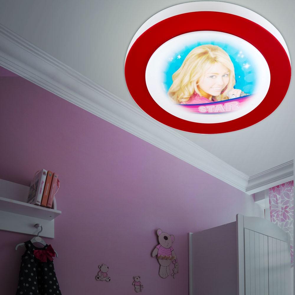 Hannah montana deckenleuchte f r das kinderzimmer unsichtbar lampen m bel innenleuchten - Kinderzimmer hannah ...
