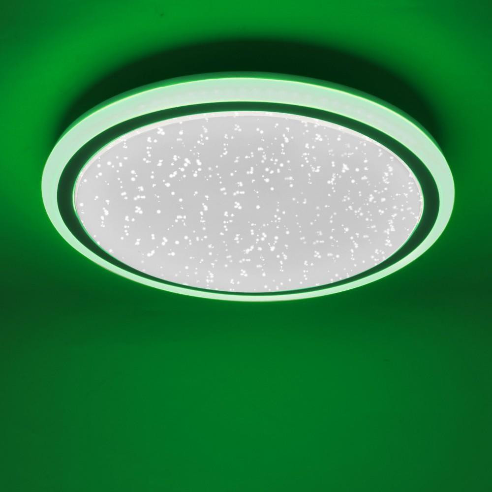 RGB LED Deckenlampe mit Sternen Himmel Optik CCT Schaltung – Bild 5