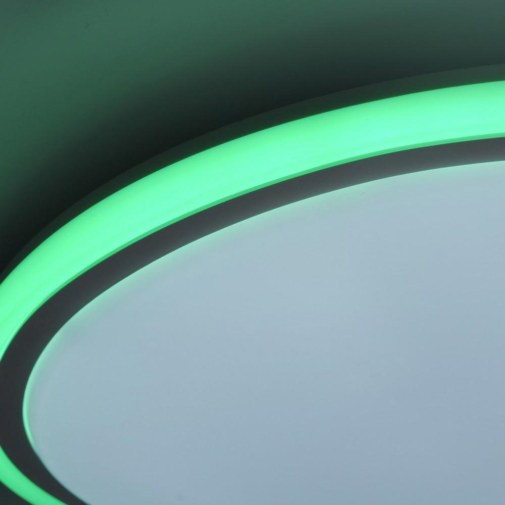 RGB LED Deckenlampe mit Sternen Himmel Optik CCT Schaltung – Bild 9
