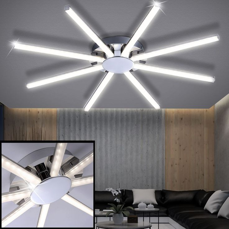 24 watt LED ceiling lamp for your living room – Bild 3