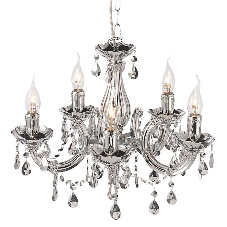 Luxury chandeliers hanging lamp lighting clear glass crystal pendulum Leuchten Direkt 15047-17 – Bild 6